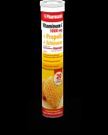 Vitaminum C 1000 MG + propolis + echinacea Pharmasis