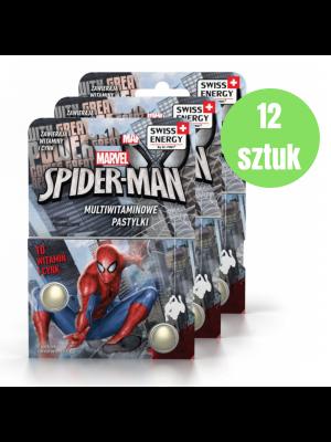 SPIDER-MAN MULTIWITAMINOWE PASTYLKI x12 opakowań