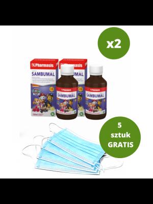 2x Sambumal + 5x maseczek medycznych GRATIS