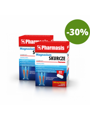 2x Magnesium Skurcze Pharmasis