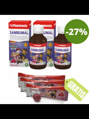 2x Sambumal + 3x Lizaki GRATIS