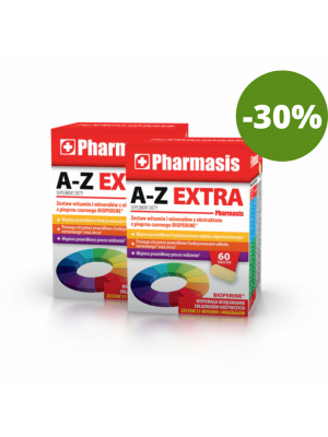 2x A-Z EXTRA Pharmasis