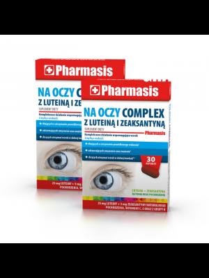 2x Na Oczy Complex z luteiną i zeaksantyną Pharmasis