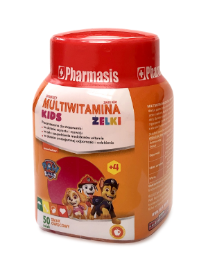 Multiwitaminowe Żelki Pharmasis