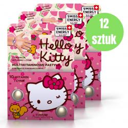 Hello Kitty Multiwitaminowe pastylki x12 opakowań