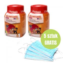 2x Żelki + 5x maseczek medycznych GRATIS