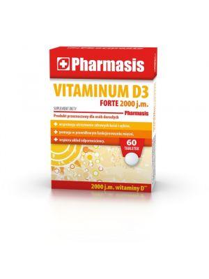 Witamina D3 FORTE 2000 j.m. Pharmasis