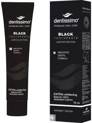 Dentissimo Czarna pasta wybielająca