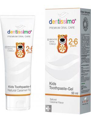 Pasta do zębów dla dzieci  2-6 lat