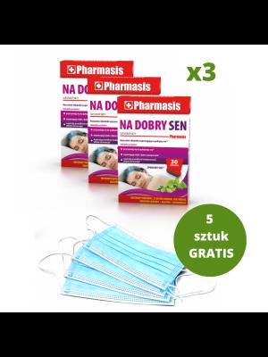 3x Na Dobry Sen + 5x maseczek medycznych GRATIS