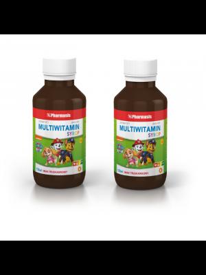 2x Multiwitamina Syrop 1+ Pharmasis