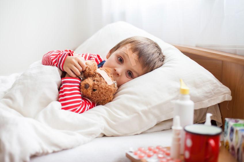 Przeziębienie u dziecka. Co robić?