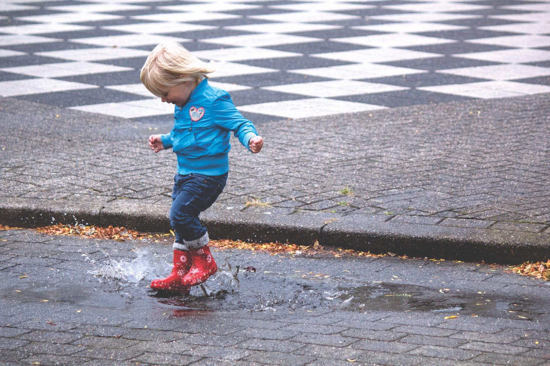 Na cebulkę - strój dla malucha na wiosenny spacer