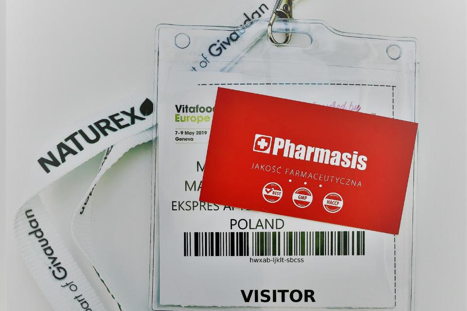 Pharmasis na targach Vitafood Europe